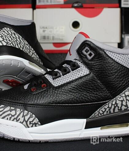 "Air Jordan Retro 3 OG ""Black Cement"" GS"
