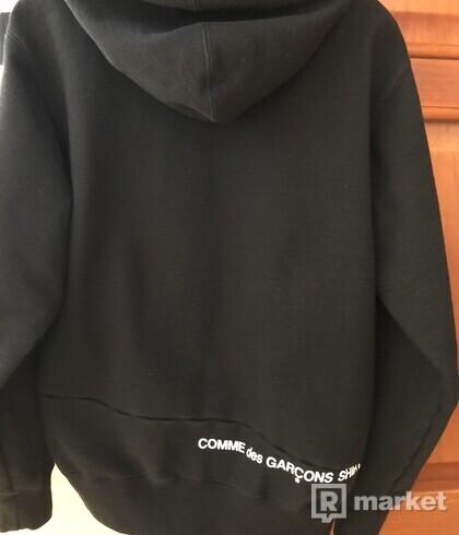 Supreme/cdg hoodie black