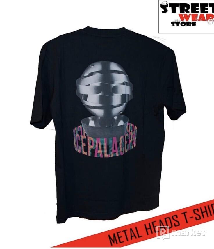 Palace METAL HEADS T-Shirt Black