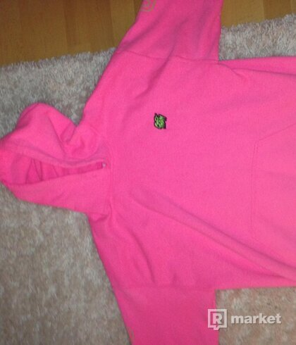 fck them Pink hoodie