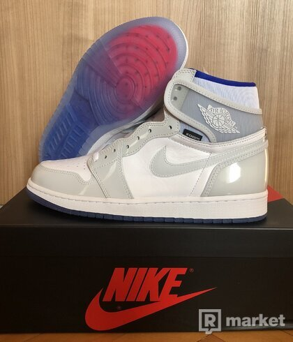 NIKE AIR JORDAN 1 zoom blue racer
