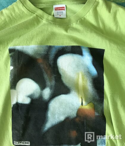 Wtt/Wts Supreme Candle green Tee