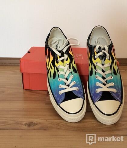 "Converse Chuck Taylor 1970s Ox ""Flames"""
