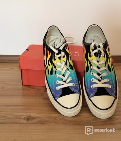 "Converse Chuck Taylor 1970s Ox ""Flames"""