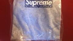 Supreme bandana box logo grey tee