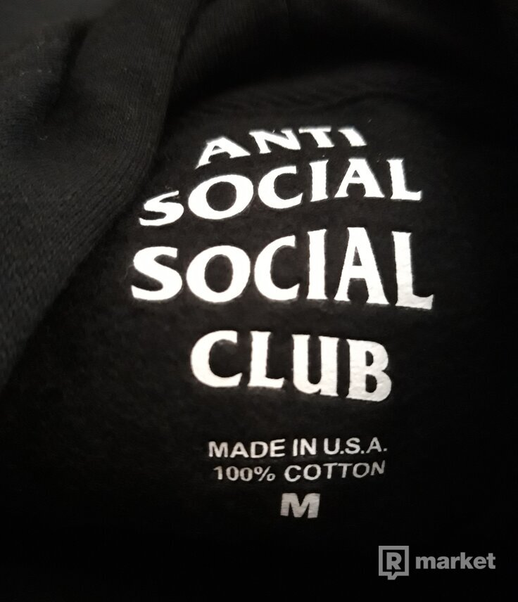 Assc black hoodie