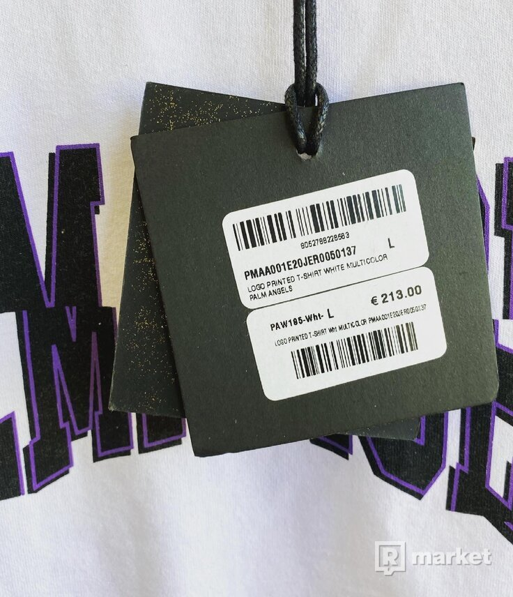 Palm Angels Multicolor Tee