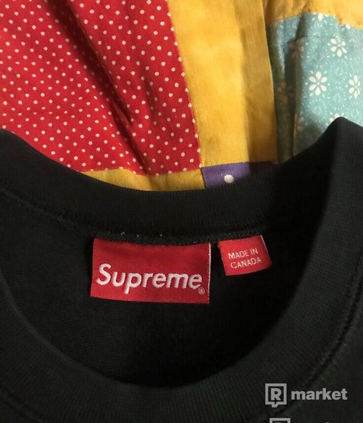 Supreme SS14 crewneck black