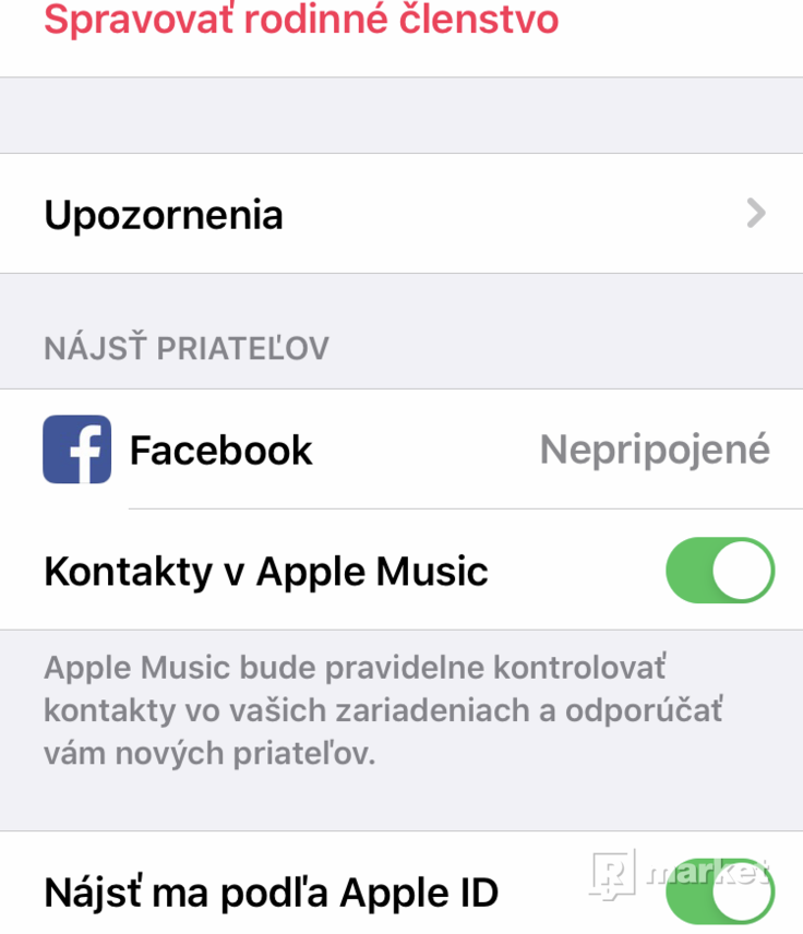 Členstvo apple Music