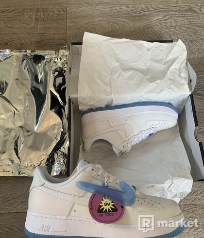Nike Air Force 1 UV Reactive