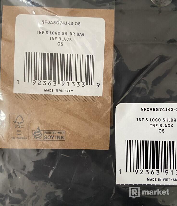 Supreme / The North Face S logo shoulder bag