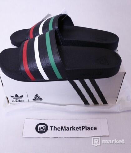 Palace x Adidas Slides