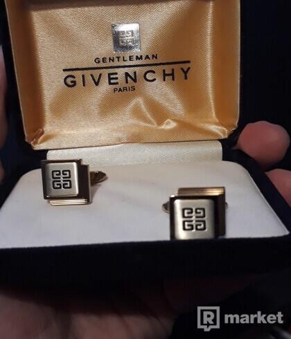 GIVENCHY - zlaté manžetové gombíky