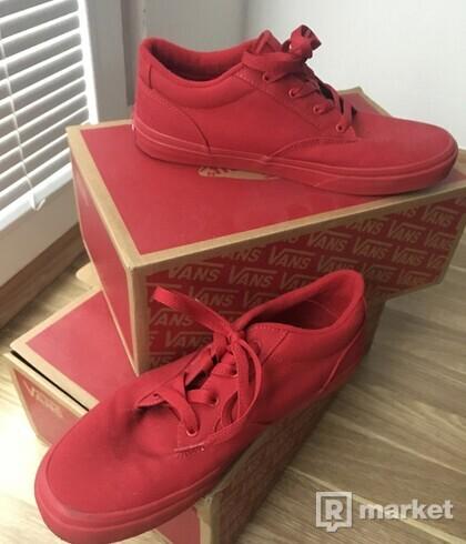 Vans Low Red