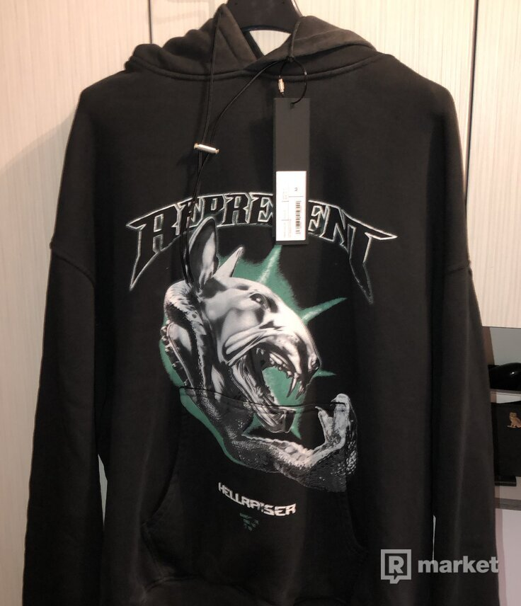 Represent Hellraiser graphic-print hoodie