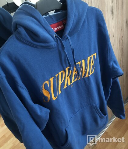 Supreme Crossover Hooded Sweatshirt Pale Royal