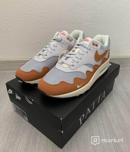 """Nike air max 1 Patta """"waves monarch"""" (special box)"""