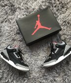 Jordan 3 Black Cement us12