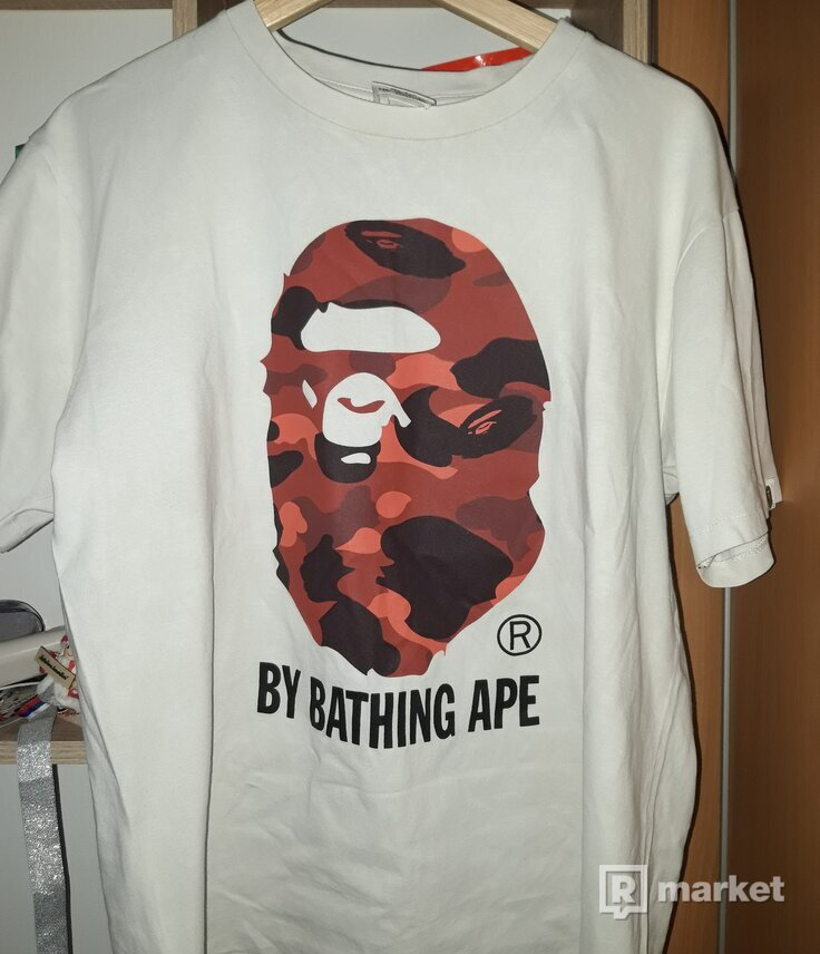 Bape Color Camo Bathing Tee