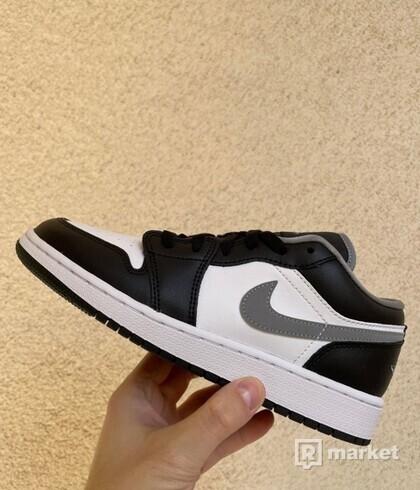 Jordan 1 Low Black White Grey (GS)