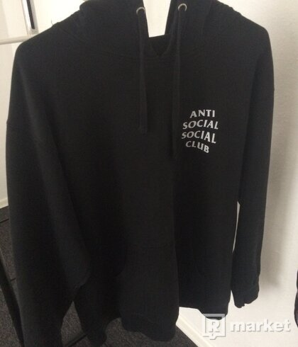 Anti Social Social Club Mind Games Hoodie ASSC