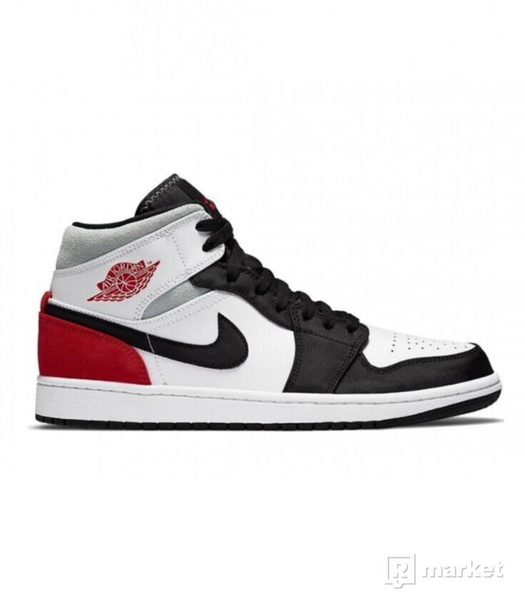 Air Jordan 1 Mid Union Red