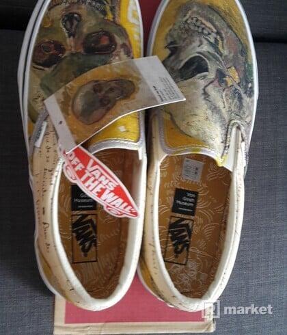 Vans x Vincent Van Gogh - Classic Slip-On Skull