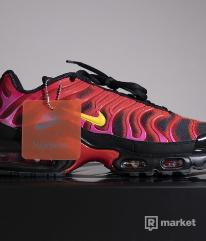 Supreme Air Max Plus (Fire Pink)