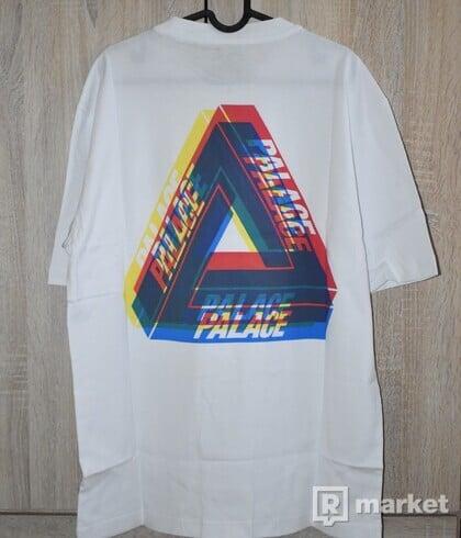 Palace Tri Ferg Colour Blur Tee White