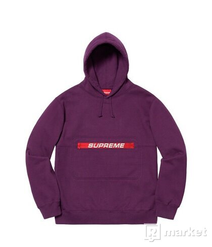 Supreme ZIP Pouch Hooded Sweatshirt