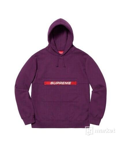 Supreme ZIP Pouch Hooded Sweatshirt