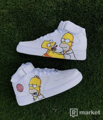 Nike AF1 MID Simpsons