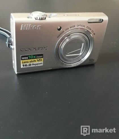 Nikon COOLPIX S6200 - digitálny fotak