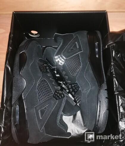 Jordan 4 Black Cat 42