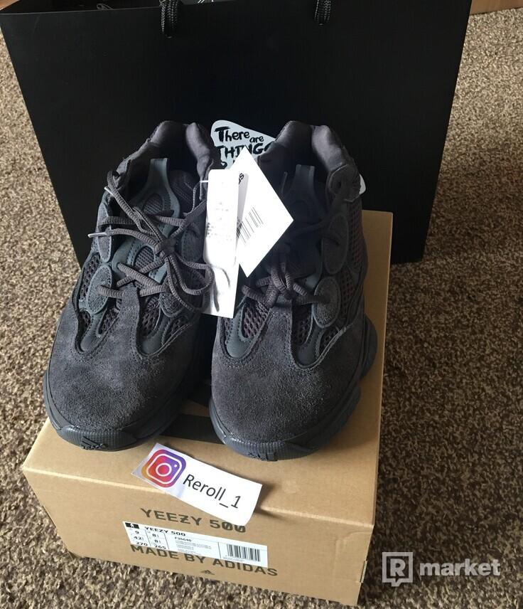 Yeezy 500 Utility Black, EU 42 2/3
