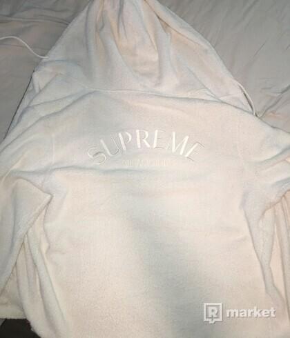Supreme Terry zipup hoodie