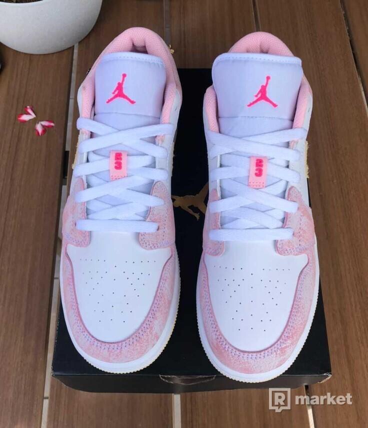 Air Jordan 1 Low (GS) Paint Drip