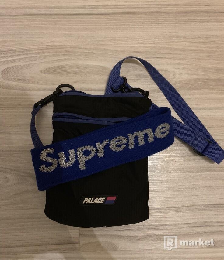 Palace sack and supreme headband refl. Royal ss16