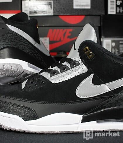 "Air Jordan Retro 3 SP Tinker ""Black Cement"""