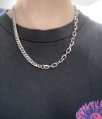 cuban link x mariner link chain