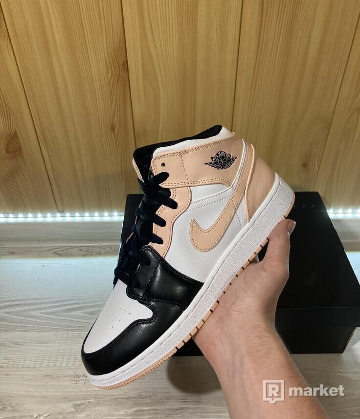 Nike Air Jordan 1 Mid 'Crimson Tint'(GS)