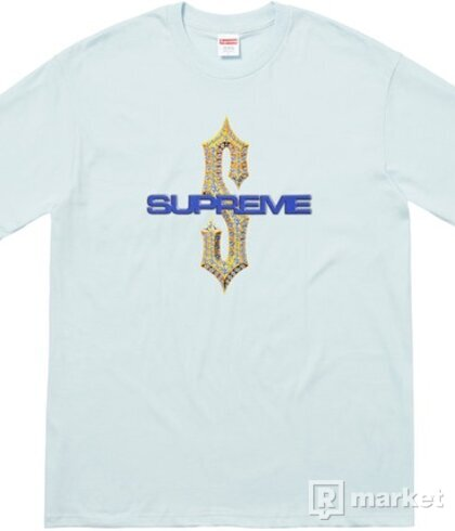 SUPREME DIAMONDS TEE SS18