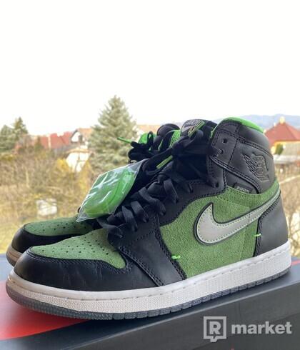 Air jordan 1 zoom green