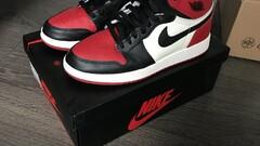 Nike Air Jordan Bred Toe