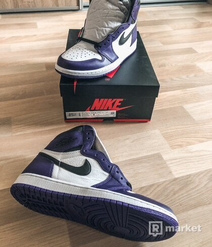 "Nike Jordan 1 ""court purple 2.0"""