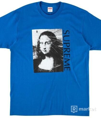 Supreme Mona Lisa Royal tričko