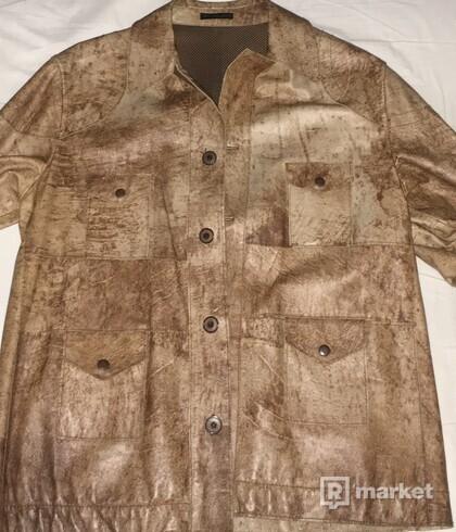 Futuro leather jacket