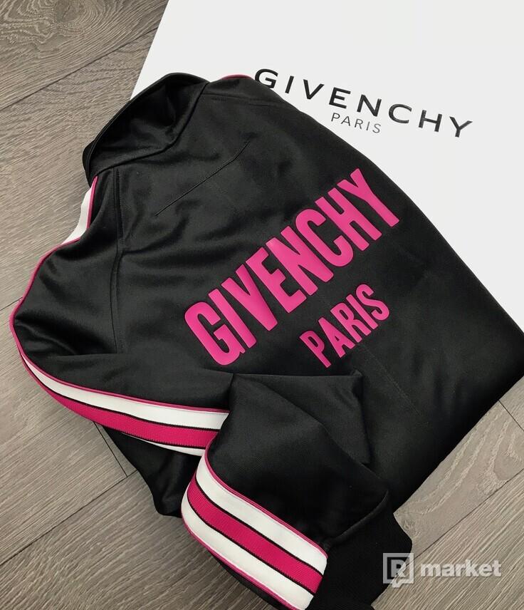 Givenchy logo mikina na zips