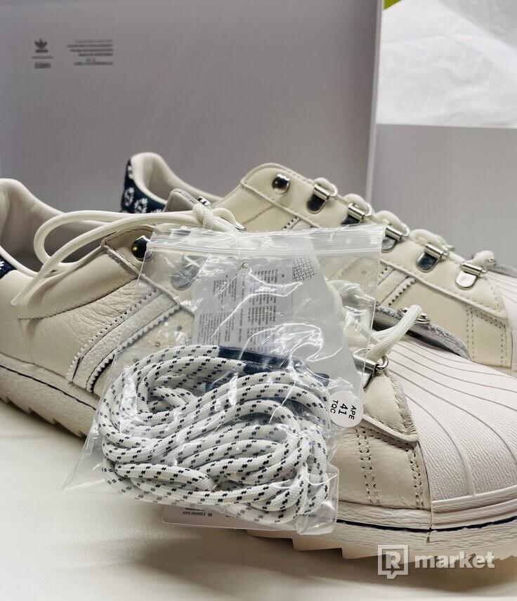 Footshop x adidas Superstar 'Blueprinting'