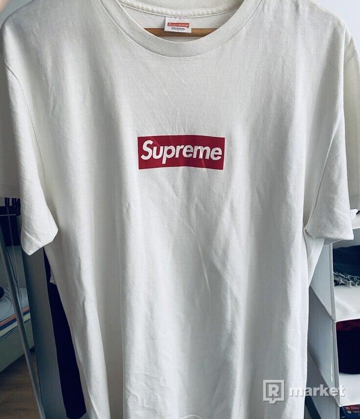 Supreme anniversary Box Logo tee white